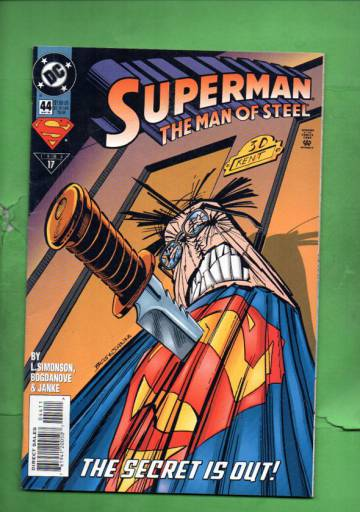 Superman: The Man of Steel #44 May 95