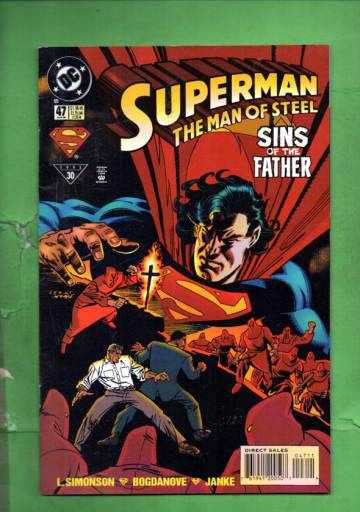 Superman: The Man of Steel #47 Aug 95
