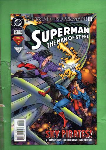 Superman: The Man of Steel #51 Dec 95
