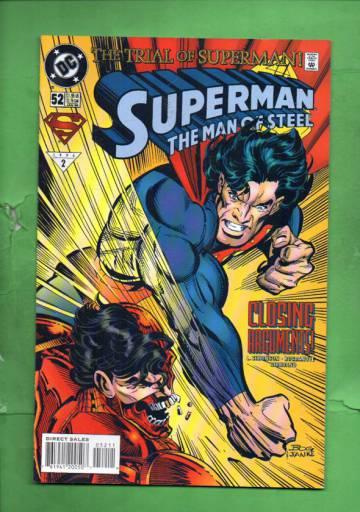 Superman: The Man of Steel #52 Jan 96