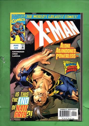 X-Man Vol. 1 #29 Aug 97