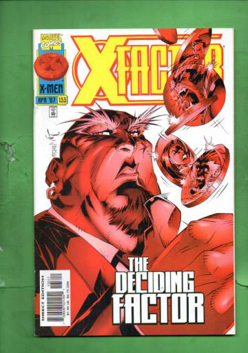 X-Factor Vol. 1 #133 Apr 97