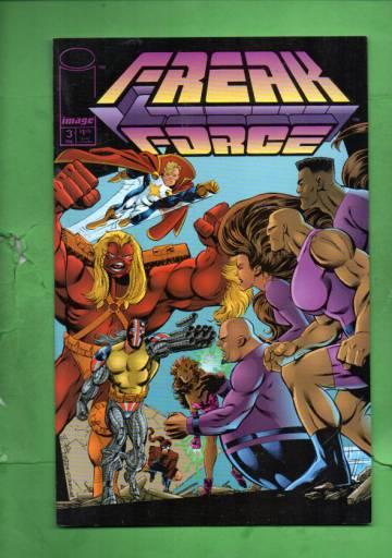 Freak Force #3 Feb 94