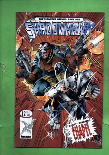 Shadowhawk #12 Aug 94