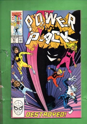 Power Pack Vol. 1 #61 Jan 91