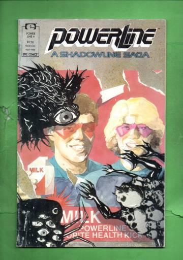 Power Line Vol. 1 #4 Nov 88
