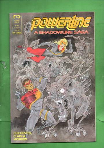 Power Line Vol. 1 #5 Jan 89