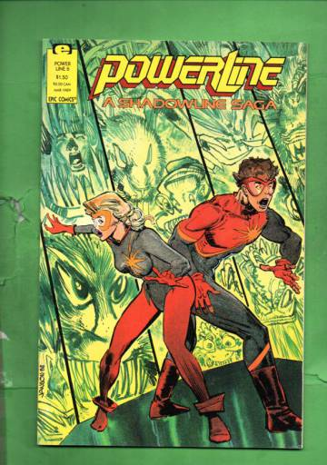 Power Line Vol. 1 #6 Mar 89