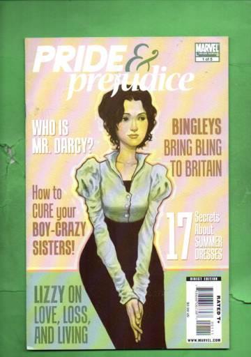 Pride & Prejudice #1 Jun 09
