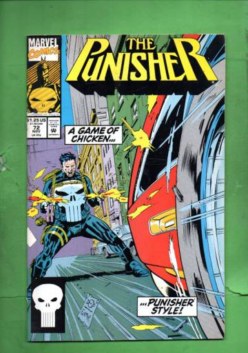 The Punisher Vol. 2 #72 Nov 92