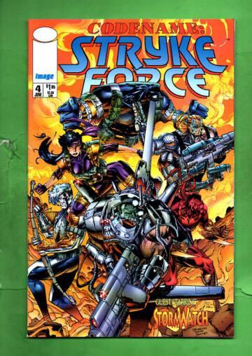 Codename: Stryke Force Vol 1 #4 Jun 94