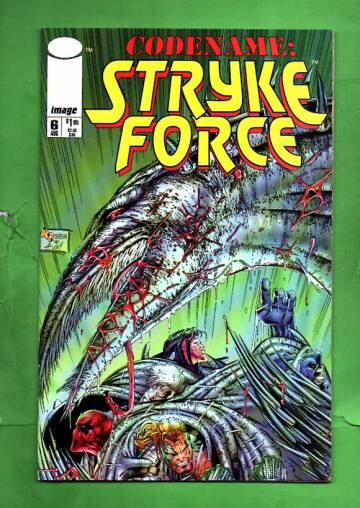 Codename: Stryke Force Vol 1 #6 Aug 94