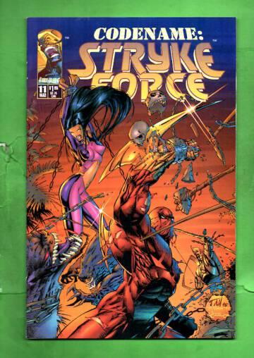 Codename: Stryke Force Vol 1 #11 Mar 95