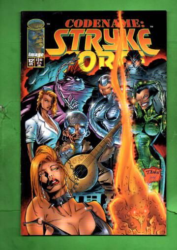 Codename: Stryke Force Vol 1 #12 Apr 95
