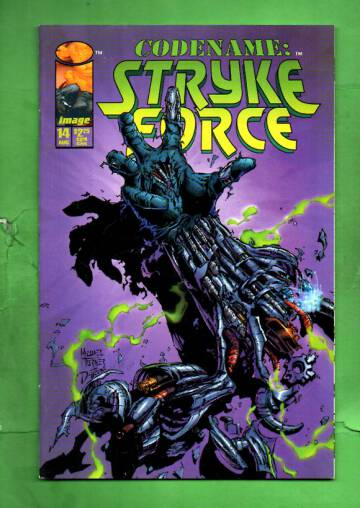 Codename: Stryke Force Vol 1 #14 Aug 95