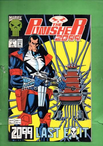 Punisher 2099  Vol 1 #3 Apr 93