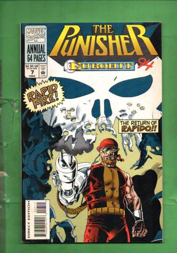 The Punisher Annual Vol 1 #7 94