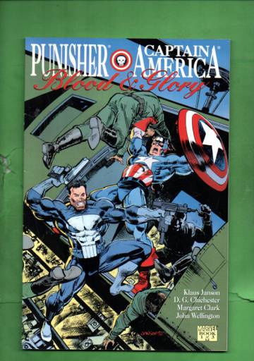 Punisher & Captain America: Blood & Glory Vol 1 #1 92