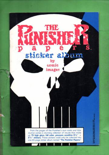 The Punisher Papers Sticker Album