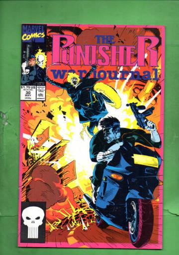 The Punisher War Journal Vol.1 #30 May 91