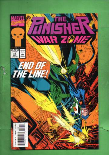 The Punisher: War Zone Vol. 1 #18 Aug 93