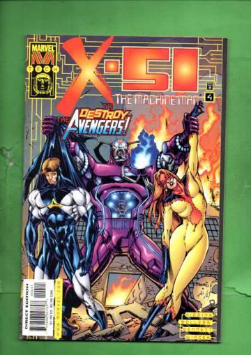 X-51 Vol. 1 #4 Nov 99