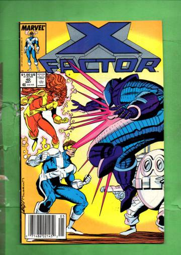 X-Factor Vol. 1 #40 May 89