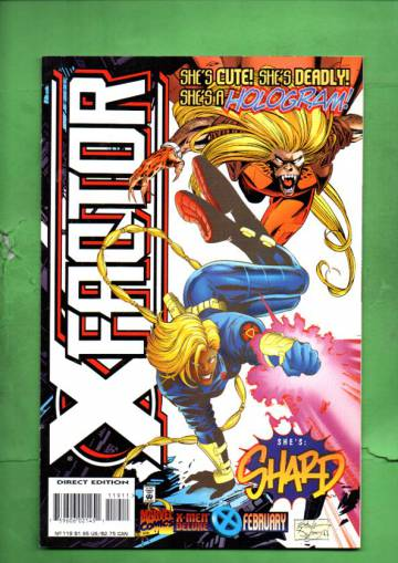 X-Factor Vol. 1 #119 Feb 96