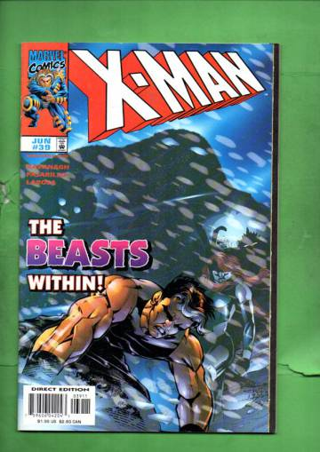 X-Man Vol. 1 #39 Jun 98
