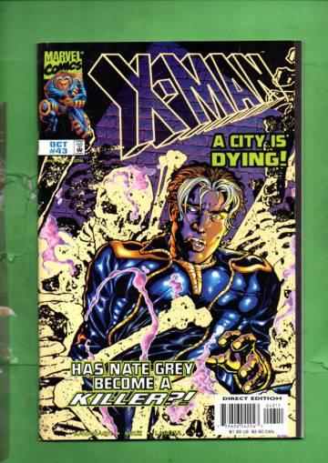 X-Man Vol. 1 #43 Oct 98