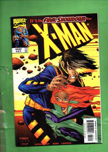 X-Man Vol. 1 #51 May 99