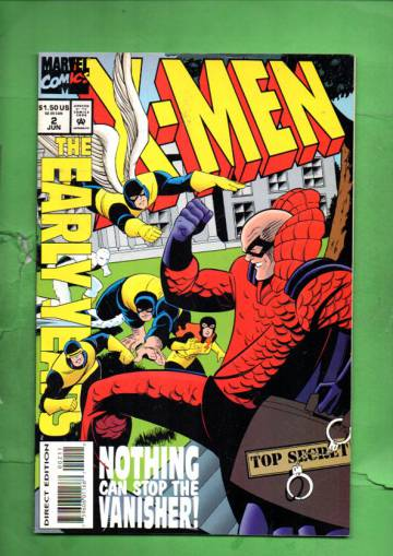 X-Men: The Early Years Vol. 1 #2 Jun 94