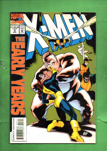 X-Men: The Early Years Vol. 1 #3 Jul 94