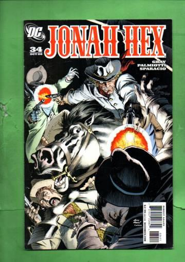 Jonah Hex #34 Oct 08