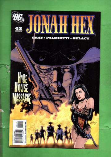Jonah Hex #43 Jul 09