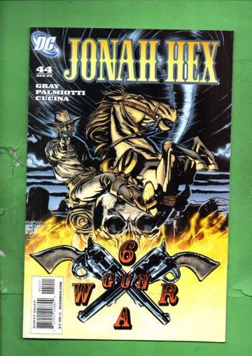 Jonah Hex #44 Aug 09