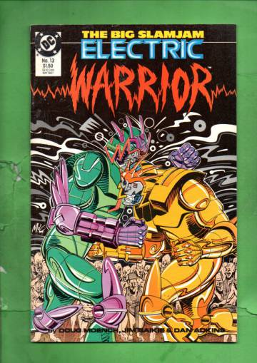 Electric Warrior #13 May 87