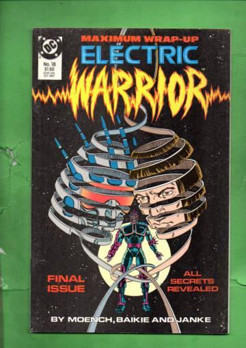 Electric Warrior #18 Oct 87