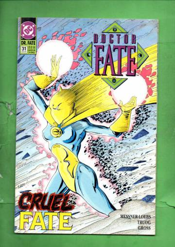 Doctor Fate #31 Aug 91