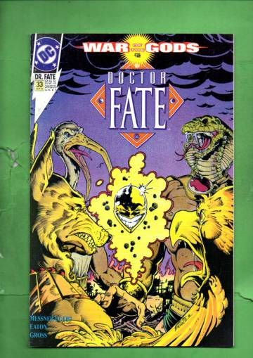 Doctor Fate #33 Oct 91
