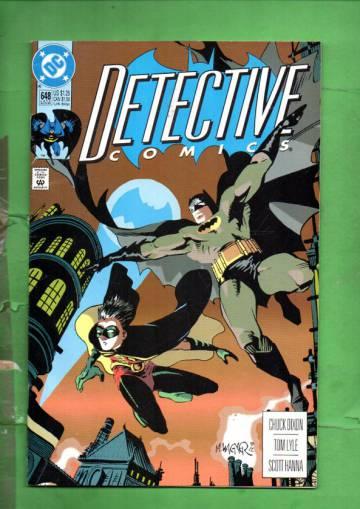 Detective Comics #648 Late Aug 92