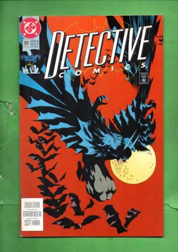 Detective Comics #651 Early Oct 92