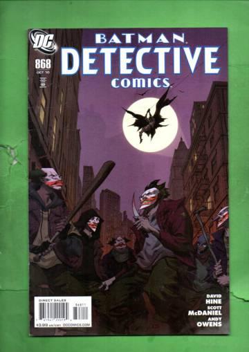 Detective Comics #868 Oct 10