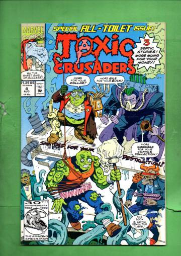 Toxic Crusaders Vol. 1 #4 Aug 92