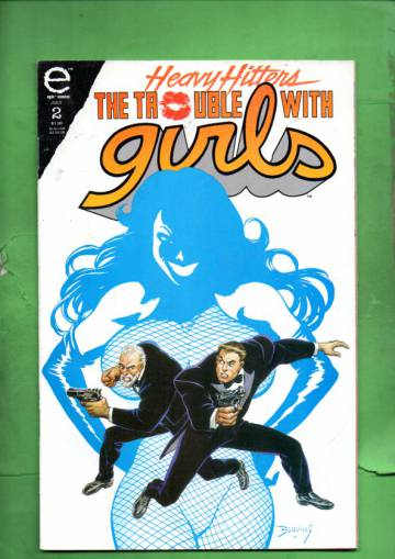 The Trouble With Girls: Night of the Lizard #2 Jul 93