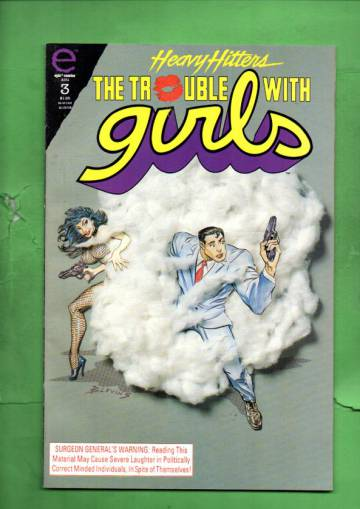 The Trouble With Girls: Night of the Lizard #3 Aug 93