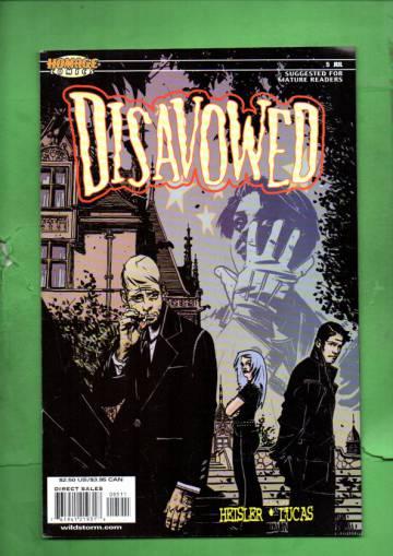 Disavowed #5 Jul 00