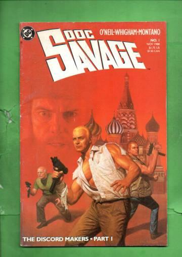 Doc Savage #1 Nov 88