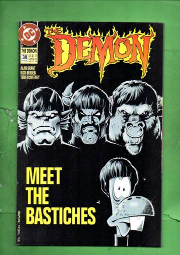 The Demon #38 Aug 93