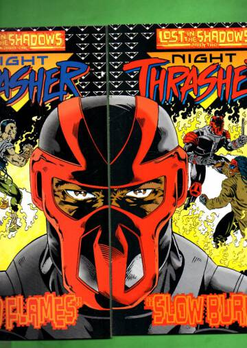 Night Trasher Vol 1 #13-14: Lost in the Shadows 1-2  Aug-Sep 94